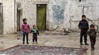 İdlibli aileler Esed'in bombalarından kaçıp hapishaneye sığındı