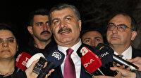 Sağlık Bakanı Fahrettin Koca: 132 kişilik yolcu içinde ateşi olan herhangi bir yolcu yok