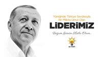 AK Parti, Cumhurbaşkanı Erdoğan'ın doğum gününe özel video yayınladı