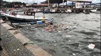 Ayvalık'ta fırtına koptu: 5 balıkçı teknesi alabora olarak battı