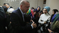 Cumhurbaşkanı Erdoğan'dan İdlib şehidi Emre Baysal'ın evine taziye ziyareti