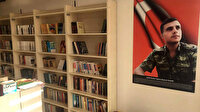 İdlib şehidi teğmenin 'kütüphane' vasiyeti yerine getirildi