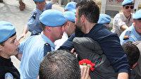 KKTC polisi ile BM Barış Gücü arasında gerginlik yaşandı
