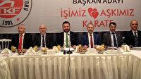 Abid Uğuz Türkiye Karate Federasyonu Başkanlığı'na aday