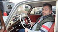 Klasik otomobilini 100 bin liraya restore ettirdi