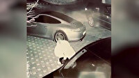 Ece Erken evli sevgilisinin otoparkını basarak lüks araçlarının aynalarını kırdı