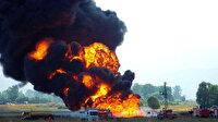 Nijerya'da petrol boru hattında patlama: Yüz binlerce kişi yerinden oldu