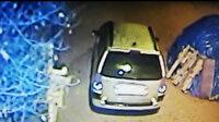 Elazığ'daki 5 büyüklüğündeki deprem güvenlik kamerasına yansıdı
