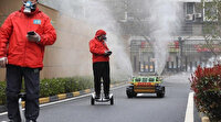 Koronavirüse karşı robotlu mücadele