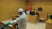 Anadolu Adliyesi'nde koronavirüs paniği: Zabıt katibinin testi pozitif çıktı, mahkemeler kapatıldı