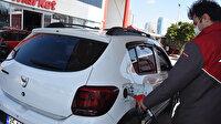 Petrol fiyatları düştü sürücülerin yüzü güldü