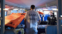 Fransa'da hızlı tren mobil hastane oldu