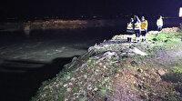 Polisten uyuşturucu zanlısı kadını kaçıran şüpheliler su kanalına uçtu