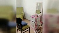 Evini kuaför salonuna çeviren kişiye ceza uygulandı