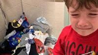 """Rektör paylaştı: """"4 yaşındaki oğlumun koronavirüs tedbiri"""""""