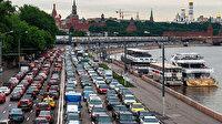 Korona paniği: 1.5 milyon kişi Moskova'yı terk etti