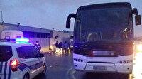 'İzin belgesiz şehirler arası taşımacılık' yapan otobüs şoförüne ceza kesildi