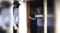 Milli futbolcu Yusuf yazıcı Trabzonlulara yardım dağıttı