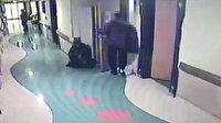 Hastaneden röntgen cihazı hırsızlığı kamerada