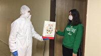 Bakan Kasapoğlu'ndan karantinadaki öğrencilere kitap hediyesi