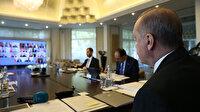 Cumhurbaşkanlığı Kabinesi, Cumhurbaşkan Erdoğan başkanlığında toplandı