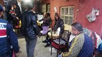 Mersin'de kıraathaneye dönüştürülen evdeki 9 kişiye para cezası