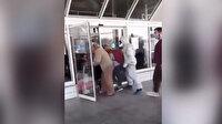 Ukrayna'da karantinadan kapıları zorlayarak kaçtılar