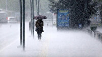 Meteorolojiden bazı illere kuvvetli yağış uyarısı yapıldı
