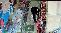 Marketteki hırsızlık kamerada