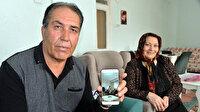 Koronavirüs nedeniyle cep telefonundan canlı bağlantıyla oğluna kız istedi