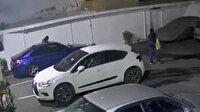 Direksiyon hırsızları kamerada