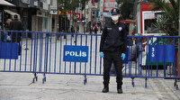 İzmir'de Karşıyaka Çarşısı'na giriş çıkışlar kapatıldı