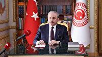 Meclis Başkanı Şentop: 23 Nisan'ı tüm Türkiye aynı anda balkonlar kutlayacak