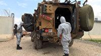 Askeri hudut geçiş ve ikmal kapılarında sağlık kontrolü devam ediyor
