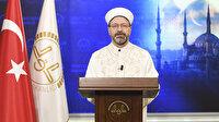 Diyanet İşleri Başkanı Erbaş'tan teravih namazı açıklaması: Camilerde cemaatle namaza verilen ara ramazanda da uygulanacak
