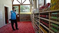 Sarıyer'de ibadete kapatılan caminin kapıları, hayır için ihtiyaç sahiplerine açıldı