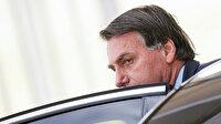 """Koronavirüse """"küçük bir grip"""" diyen Bolsonaro'ya protesto"""