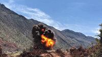 Siirt'te teröristlerin araziye tuzakladığı mayın imha edildi