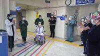 99 yaşında koronavirüsü yendi