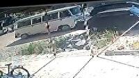 Aracına çarpan sürücüyü takip edip öldürdü