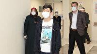 Koronavirüsü yenen 14 yaşındaki çocuk: Canım sıkılmıştı dışarı çıkmıştım