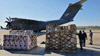 TSK'ya ait uçak sağlık malzemelerini Somali'ye ulaştırdı