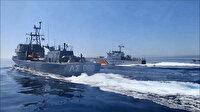 Türk karasularını ihlal eden Yunan botu bölgeden sürülerek çıkarıldı