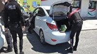 Polis bile şoke oldu: Suç makinesi kız arkadaşının otomobilinin bagajından çıktı