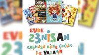 Çocuklar bayram edecek: Bilge Çocuk ve Bilge Minik dergilerinde 23 Nisan'a özel kampanya