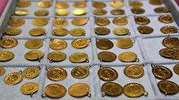 Altın fiyatlarında hareketlilik sürüyor: Gram altın 380 lira seviyelerinde