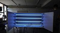 Meslek liselilerden Ultraviyole-C hava sterilizasyon cihazı