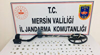 Mersin'de tarihi eser operasyonu: Çok sayıda sikke, yüzük ve obje ele geçirildi