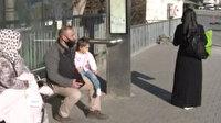Kucağında hasta çocuğuyla dakikalarca otobüs bekledi