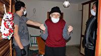 93 yaşında koronavirüsü yendi, horon oynayarak taburcu oldu: Bomba gibiyim